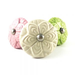 Ceramic Flower Knob
