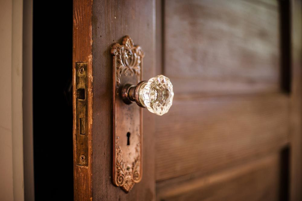 door knobs - Jewellery for your home: New knobs, pulls and handles can add a fresh look to your home
