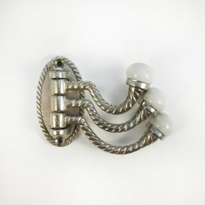 Silver Trio Swivel Wall Hook